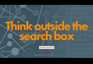2DSearch -  לחשוב מחוץ לחלון החיפוש