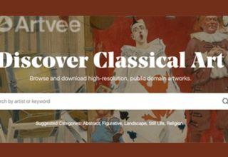 Artvee – מנוע חיפוש חדש ליצירות אמנות ברשות הציבור